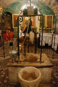 Samaritan woman's well Nablus, owning your story